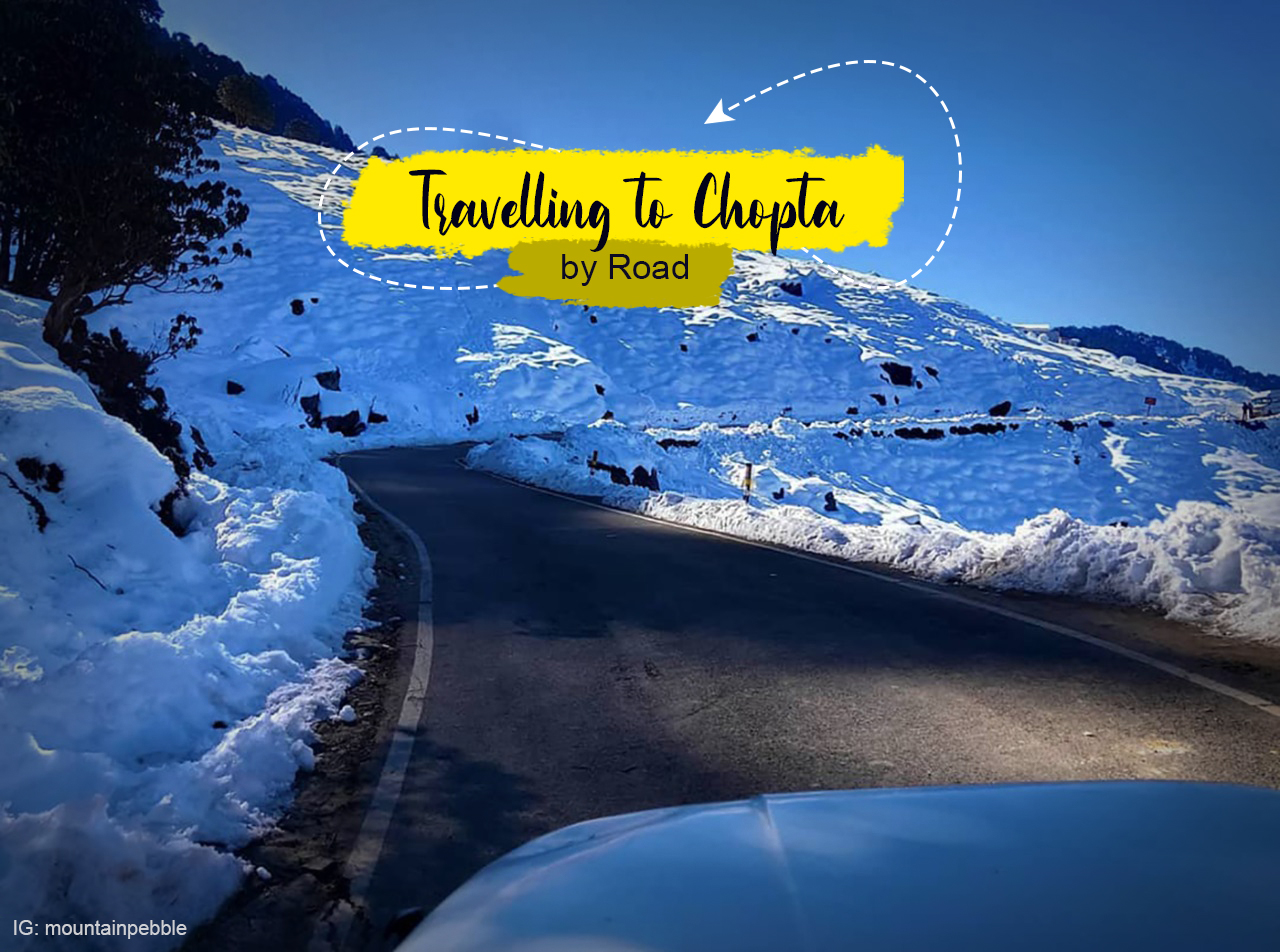 travel to chopta by road