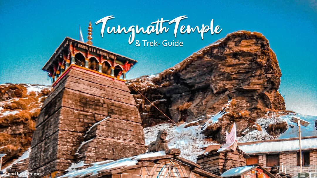 Tungnath Temple with snow